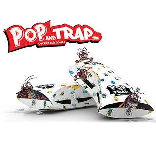 [計10袋/2箱セット] ゴキブリの高級マンション!POP&TRAP コックローチハウス