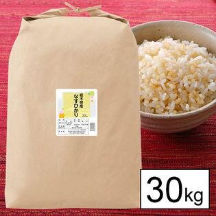 【玄米】30年産 栃木県産なすひかり 30kg