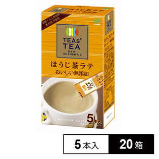TEAs' TEA NEW AUTHENTIC おいしい無添加 ほうじ茶ラテ 5本入