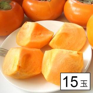 果物屋さんが選んだ九州産旬の柿 15玉