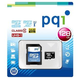 PQI/MicroSDXCカード (128G) Class10 UHS-I対応 (ニンテンドースイッチ動作確認済)/MS10U11-128 ※国内正規品