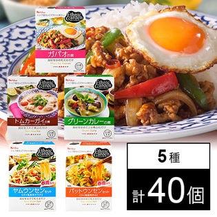 [計40個]ハウス食品 エスニックガーデン 5種セット ヤムウンセンセット