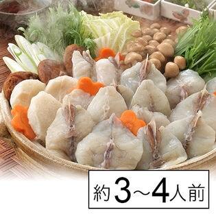 【下関直送】国産トラフグちり鍋セット(約3~4人前) トラフグちり450g