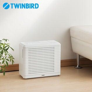 ツインバード(TWINBIRD)/パーソナル加湿空気清浄機 (ホワイト)/AC-4252W