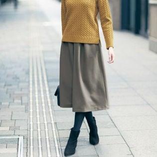 【ベルメゾン】スカーチョ x1Fa9 / C20364 / グレイッシュカーキ / 4L