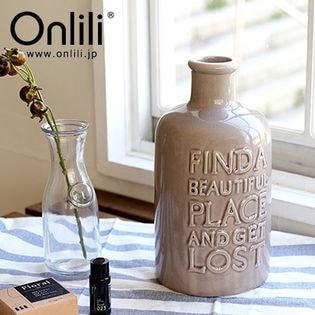 Onlili/VINTAGE Collection 陶器 アロマ超音波式加湿器 (アッシュグレー)/ONL-HF009V-AG
