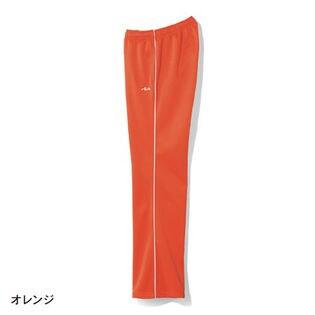 【FILA】裏起毛ストレートジャージパンツ  / B71892 / オレンジ / S70