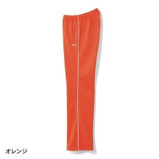 【FILA】裏起毛ストレートジャージパンツ  / B71892 / オレンジ / S74