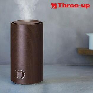 Three-up(スリーアップ)/上部給水式加湿器 Rainy (レイニー) ダークウッド/HFT-1720-DW