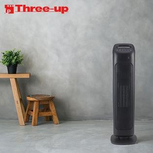 Three-up(スリーアップ)/人感センサー付 スリムタワーヒーター (ブラック)/CHT-1635-BK