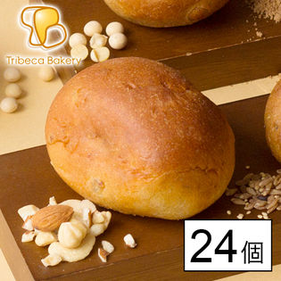 【東京】低糖質 5穀の大豆パン 24個入