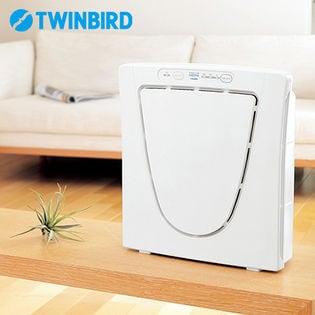 ツインバード(TWINBIRD)/空気清浄機 ファンディファイン ヘパ (ホワイト)/AC-4238W