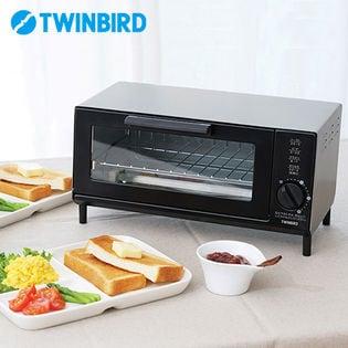 ツインバード(TWINBIRD)/オーブントースター (シルバー)/TS-4034S