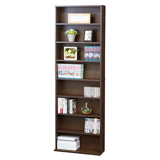 文庫本棚 W600 S(ブラウン)