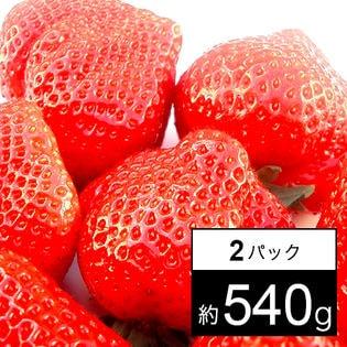 【福岡産】博多あまおう グランデ 2パック 約540g