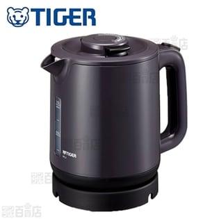 タイガー/蒸気レス 電気ケトル 1.0L (わく子) グレー/PCJ-A101(H)