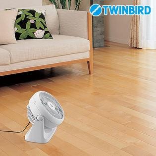 ツインバード(TWINBIRD)/サーキュレーター (ホワイト)/KJ-4781W