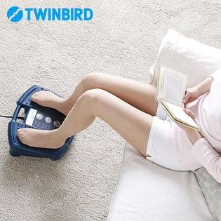 ツインバード(TWINBIRD)/フットタタキトントン (ネイビーブルー)/EM-2706BL