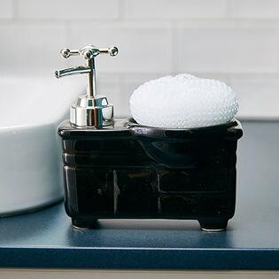【ブラック】ソープディスペンサー「bathroom sink(バスルームシンク)」