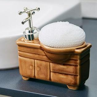 【キャメル】ソープディスペンサー「bathroom sink(バスルームシンク)」