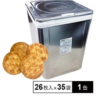 災害備蓄用クラッカー缶