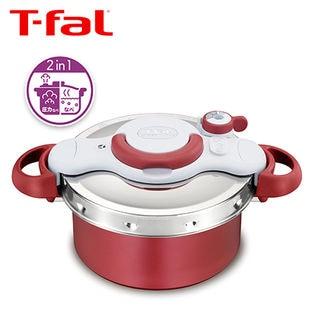 T-fal(ティファール)/クリプソ ミニット デュオ(レッド) IH対応(4.2L/2~4人用) 圧力鍋/P4604236