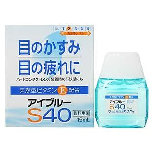 [6個]【第3類医薬品】アイブルーS40 15ml |