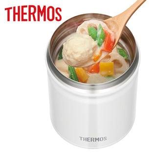 [ホワイト/0.5L]サーモス(THERMOS)/真空断熱スープジャー/JBT-500-WH