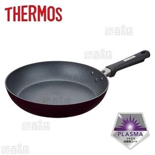 [28cm] サーモス(THERMOS)/フライパン プラズマ超硬質コート (IH対応)/KFC-028-BK