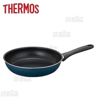 [24cm] サーモス(THERMOS)/フライパン 耐摩耗性デュラブルコート (ガス火専用)/KFD-024-NVY