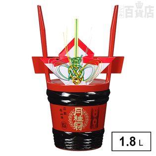 【予約受注・12月中旬以降お届け】月桂冠 特撰 角樽1.8L