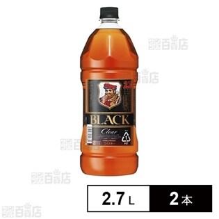 ブラックニッカクリアペット 2.7L