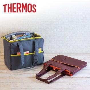 [ブラウン/25L] サーモス(THERMOS)/保冷ショッピングバッグ/RER-025-BW