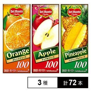 オレンジジュース/アップルジュース/パイナップルジュース