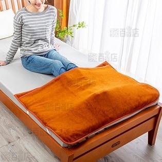 [2枚セット] 岩盤浴のようなあったか足入れパッド (サイズ:70×105cm/ポケット丈65cm)