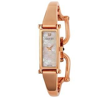 GUCCI 1500【YA015560】レディース腕時計 ホワイトパール
