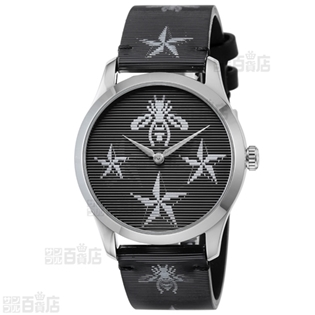 GUCCI  Gタイムレス【YA1264105】レディース腕時計 ブラック×ブラック