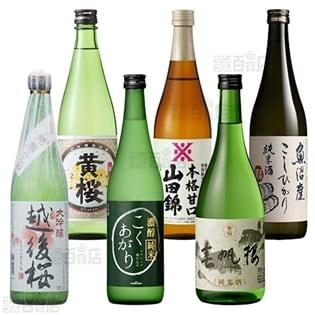 【6本】燗酒を愉しむ!厳選日本酒 720ml