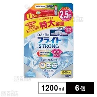 ブライトSTRONG(ストロング) 酸素系漂白剤 つめかえ 特大 1200mL