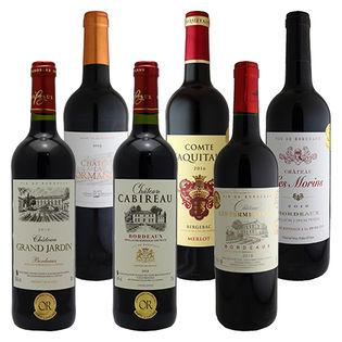 フランス金賞受賞 赤ワイン 6本セット