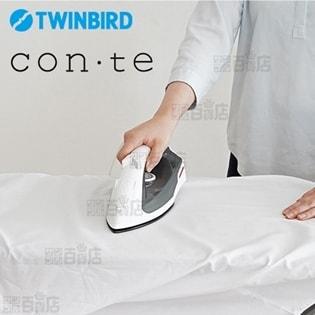 ツインバード(TWINBIRD)/スチームアイロン (かけ面:セラミックコート) ホワイト/SA-4864W