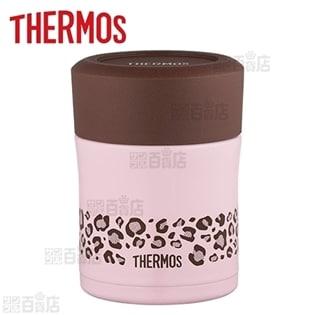 [ブラウン/ピンク (300ml)] サーモス(THERMOS)/真空断熱スープジャー/JBJ-303