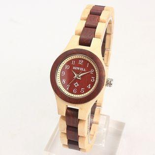 new product da4fa 4db0f 木製腕時計 日本製ムーブメント 軽い 軽量 26mmケース WDW022-04 ...