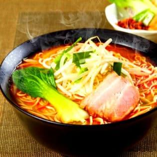 芳醇ねりごま香る 特製担担ラーメンセット(6人前) 本格中華ラー醤の辛味と濃厚な旨味スープ