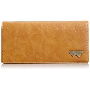 【キャメル】エドウィン 財布Wメタル長財布 12289937