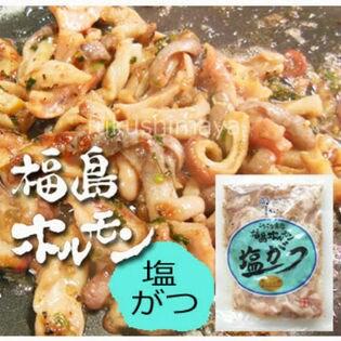 【235g×10袋】福島ホルモン(塩がつ)