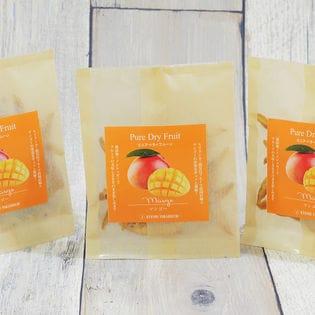 【3袋セット】ピュア・ドライフルーツ「マンゴー」