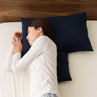 【ネイビー】ストレートネック対策 頚椎を支える枕