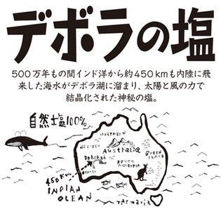 【450グラム×2袋セット】500万年前の塩の結晶・デボラの塩