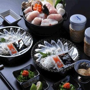 【2人前】得々ふぐ刺身鍋セット/冷凍